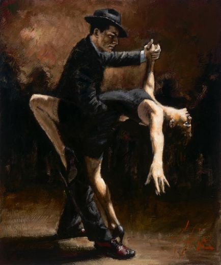 fabian perez tango vii study paintings