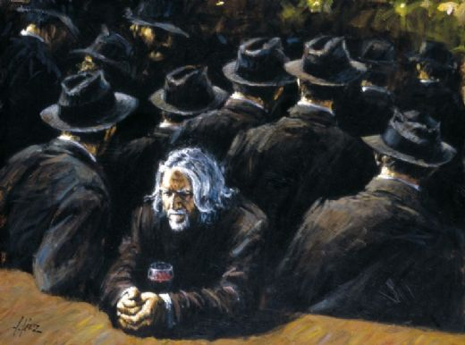 fabian perez untitled ii painting