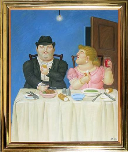 fernando botero the dinner paintings