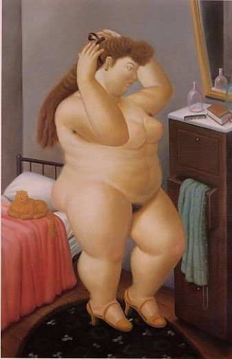 fernando botero venus 1989 paintings