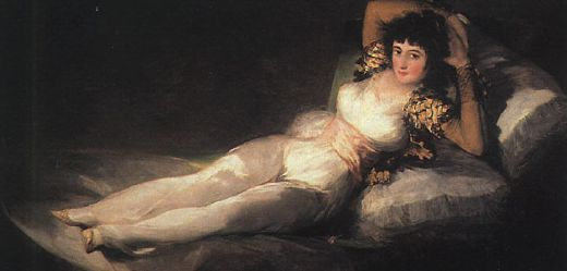 francisco de goya clothed maja oil painting