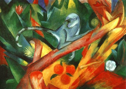 franz marc the monkey paintings