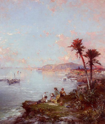 franz richard unterberger monaco painting