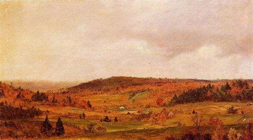 frederic edwin church autumn shower paintings