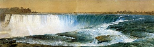 frederic edwin church horseshoe falls painting