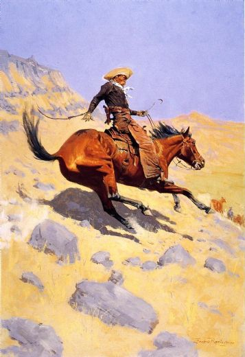 frederic remington the cowboy paintings