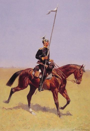 frederic remington uhlan painting