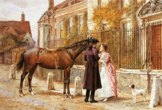 george goodwin kilburne goodby painting