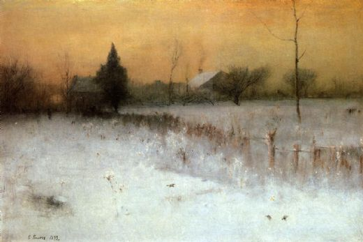 george inness home at montclair painting