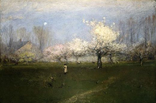 george inness spring blossoms new jersey prints