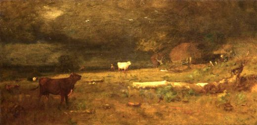 george inness the coming storm painting
