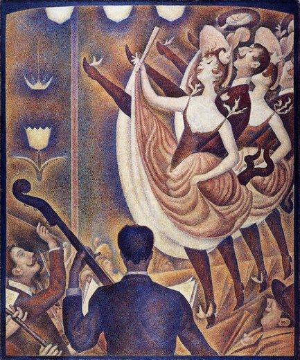 georges seurat chahut paintings