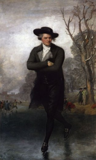 gilbert stuart the skater william grant painting
