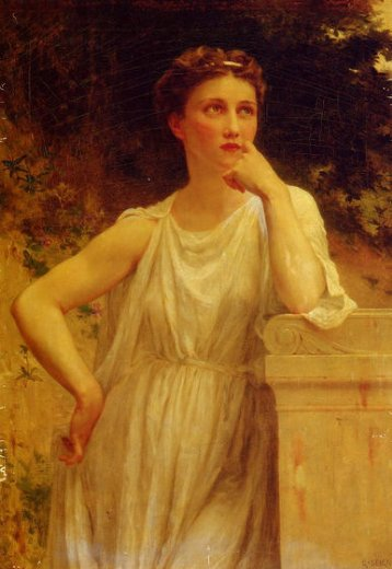 guillaume seignac a wistful moment painting
