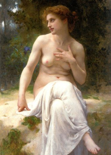 guillaume seignac nymphe painting