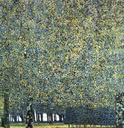 gustav klimt park paintings