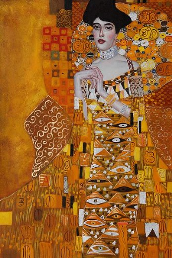 gustav klimt portrait of adele bloch paintings