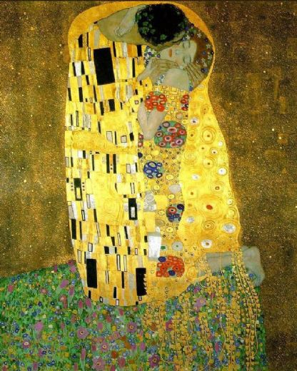 gustav klimt the kiss (le baiser   il baccio) painting