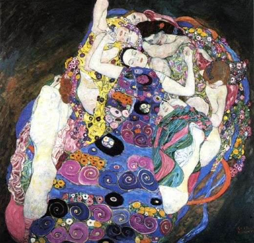 gustav klimt the virgin paintings