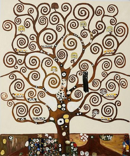gustav klimt tree of life iii paintings
