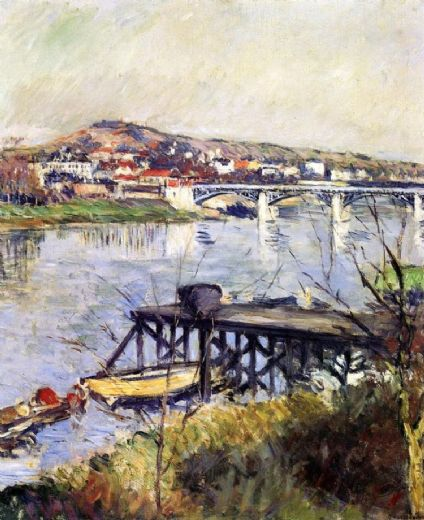 gustave caillebotte the argenteuil bridge paintings