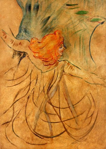 henri de toulouse lautrec at the music hall painting