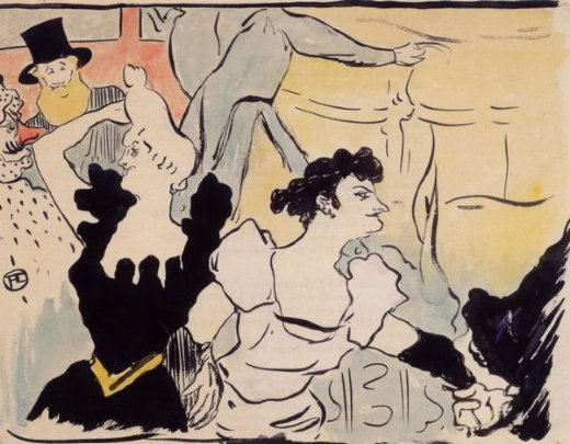 henri de toulouse lautrec au bal paintings
