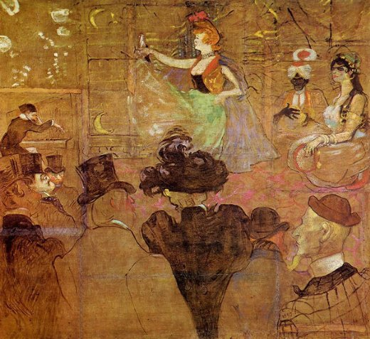 henri de toulouse lautrec la goulue dancing paintings