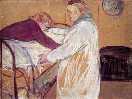 henri de toulouse lautrec two women making the bed posters