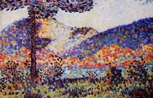 henri edmond cross landscape ii paintings
