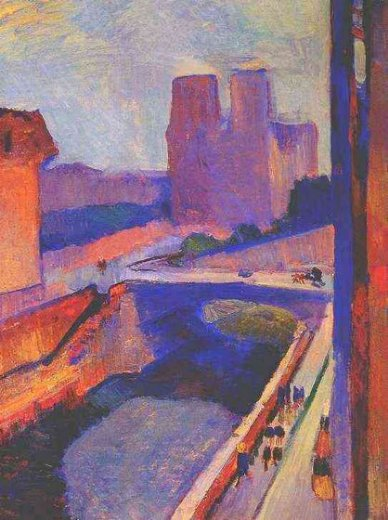henri matisse notre dame sunrise paintings