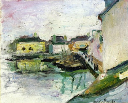 henri matisse the port of palais belle painting