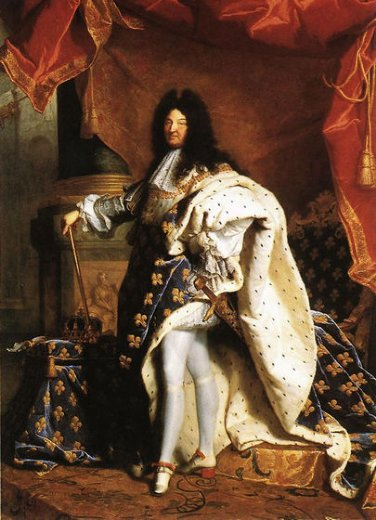 hyacinthe rigaud portrait of louis xiv painting