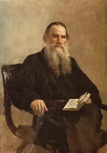 il ya repin portrait of leo tolstoy paintings