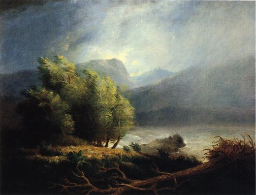 james peale landscape painting