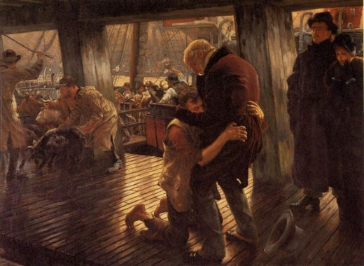 james tissot the prodigal son in modern life the return painting