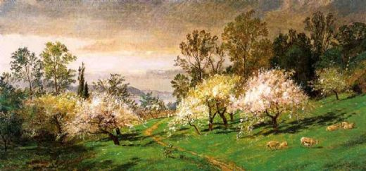 jasper francis cropsey flowering trees paintings