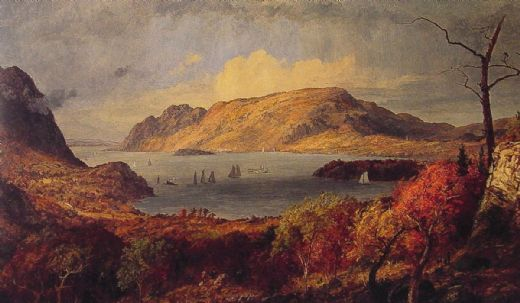 jasper francis cropsey gates of the hudson paintings