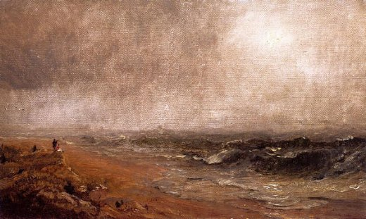jasper francis cropsey looking out to sea paintings
