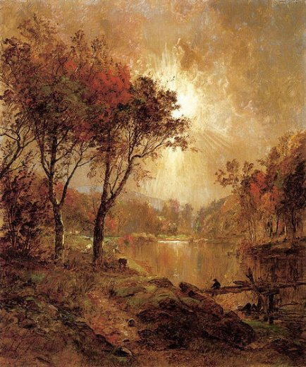 jasper francis cropsey on the ramapo river paintings