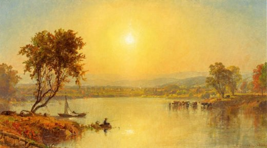 jasper francis cropsey on the susquahana river paintings