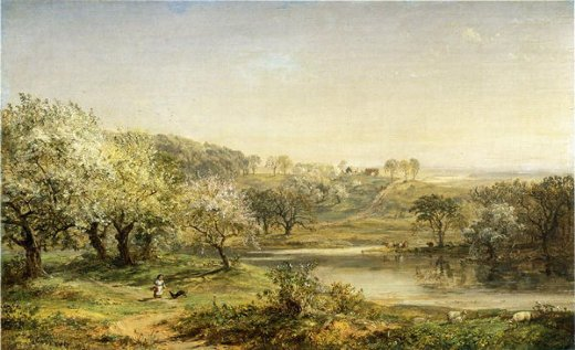 jasper francis cropsey spring chenango valley paintings