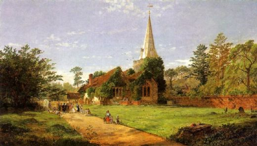 jasper francis cropsey william penn s wedding paintings