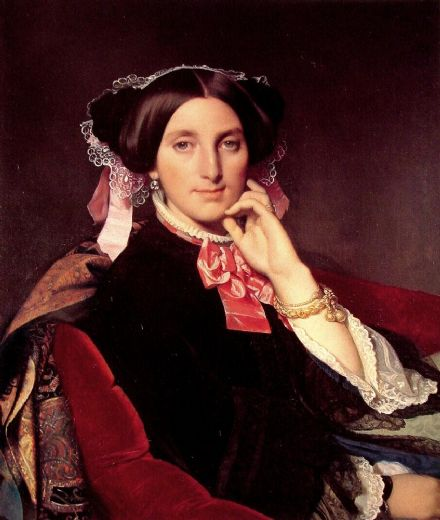 jean auguste dominique ingres madame henri gonse painting