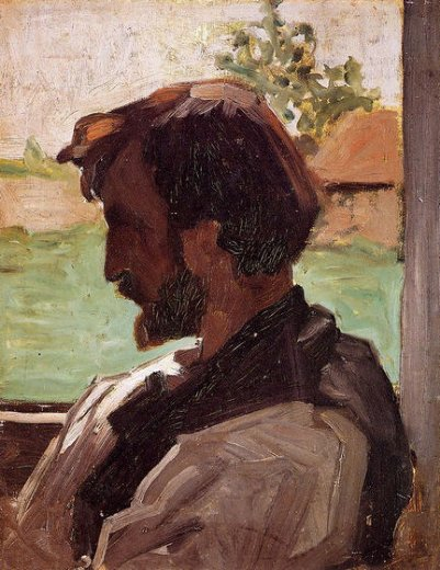 jean frederic bazille self portrait at saint paintings