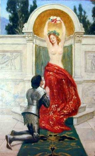 john collier tannhauser in the venusberg painting