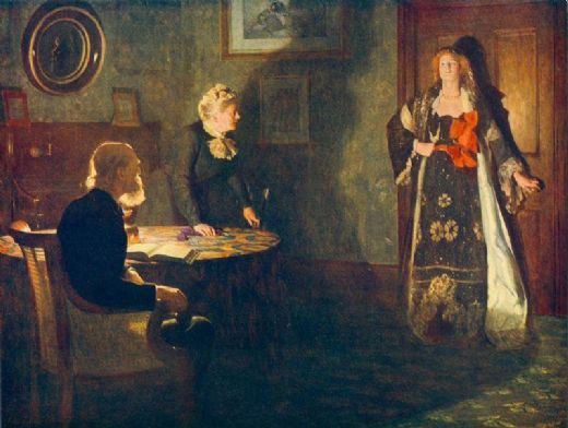john collier the prodigal daughter painting