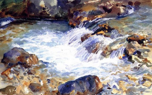 john singer sargent in the tyrol oil painting