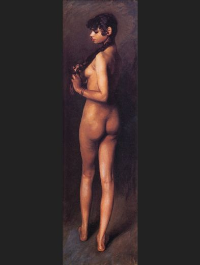 john singer sargent nude egyptian girl paintings