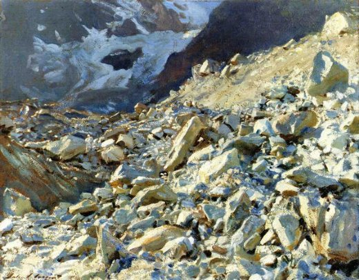john singer sargent the moraine paintings